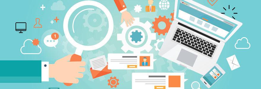 Création et référencement de sites web